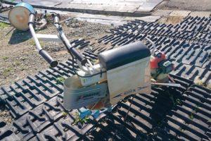 共立(キョウリツ) 水田乗用溝切機 MKSE430R iスタート ミゾキリライダー 離農品 実働品 中古