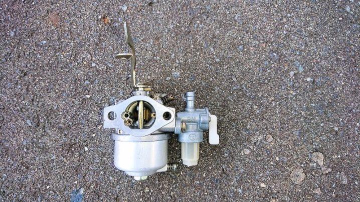 クボタ GH170-1(170) ガソリンエンジン キャブレター 燃料コック ASSY 分解掃除済(O・H) 中古