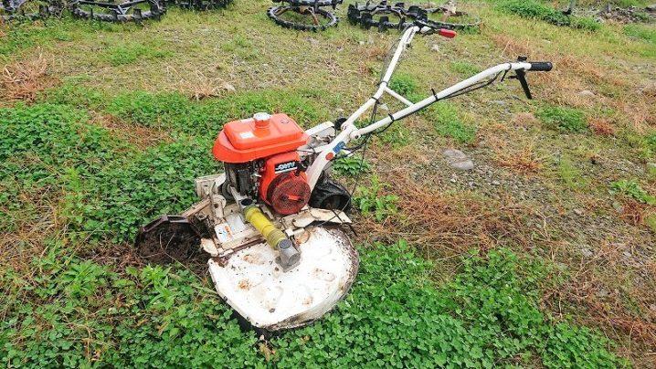 畦草刈機 ウィングモア(ロータリモーア) GC-701 二輪駆動 2WD 6馬力 ひろがり 整備済 実働品 中古