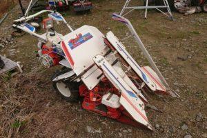 クボタ バインダー 2条 スイングデバイダー付 自動ひも通し RA50D 実働 離農品 中古