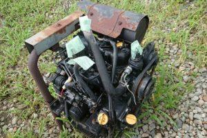 ヤンマー ディーゼルエンジン 【3TNC78-RA2C】 中古 500H前後の稼働コンバインより