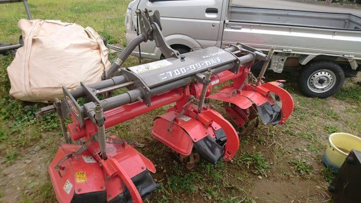 ニプロ トラクター用 三連ロータリーカルチ RK-305UV 美品 実働品 中古 現状