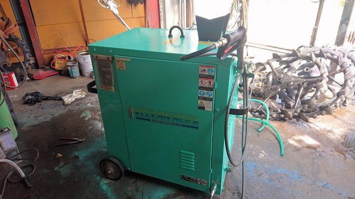 温水高圧洗浄機 業務用 クリーンエース 初田工業 HCA-3000SA-TP1 実働美品 現状中古 200V/50Hz