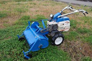 イセキ ハンマーナイフモアー草刈機(フジキ作業機) 刈幅70cm 整備済 ランドミニ700 KC700F 7馬力 中古