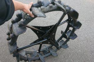 クボタ 田植機 ノーパンク 後輪(車輪)35.5×6 1/2 直径890mm 美品 中古