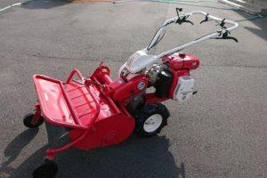 ハンマーナイフモア 草刈機 中古 シバウラFRE600 7馬力 気合を入れて整備しました
