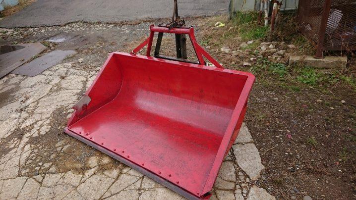 トラクター用 除雪リアバケット ダンプ 中古 3点リンク式 イガラシ機械 TS-151 1m50cm幅
