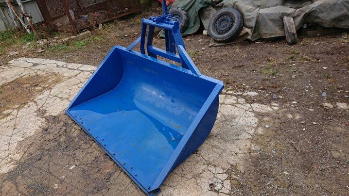 トラクター用 除雪ダンプ リアバケット 中古 3点リンク式 イガラシ機械 TS-151 簡易塗装