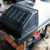 バンザイ 温水スチーム 高圧洗浄機 洗車機 CWH-T16 実働品中古 ガン付約15m