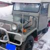 三菱 JEEP ジープ ディーゼル 4DR50A K-J24 ウィンチ付 エンジン動作確認済 中古車 現状 部品取り レストア用