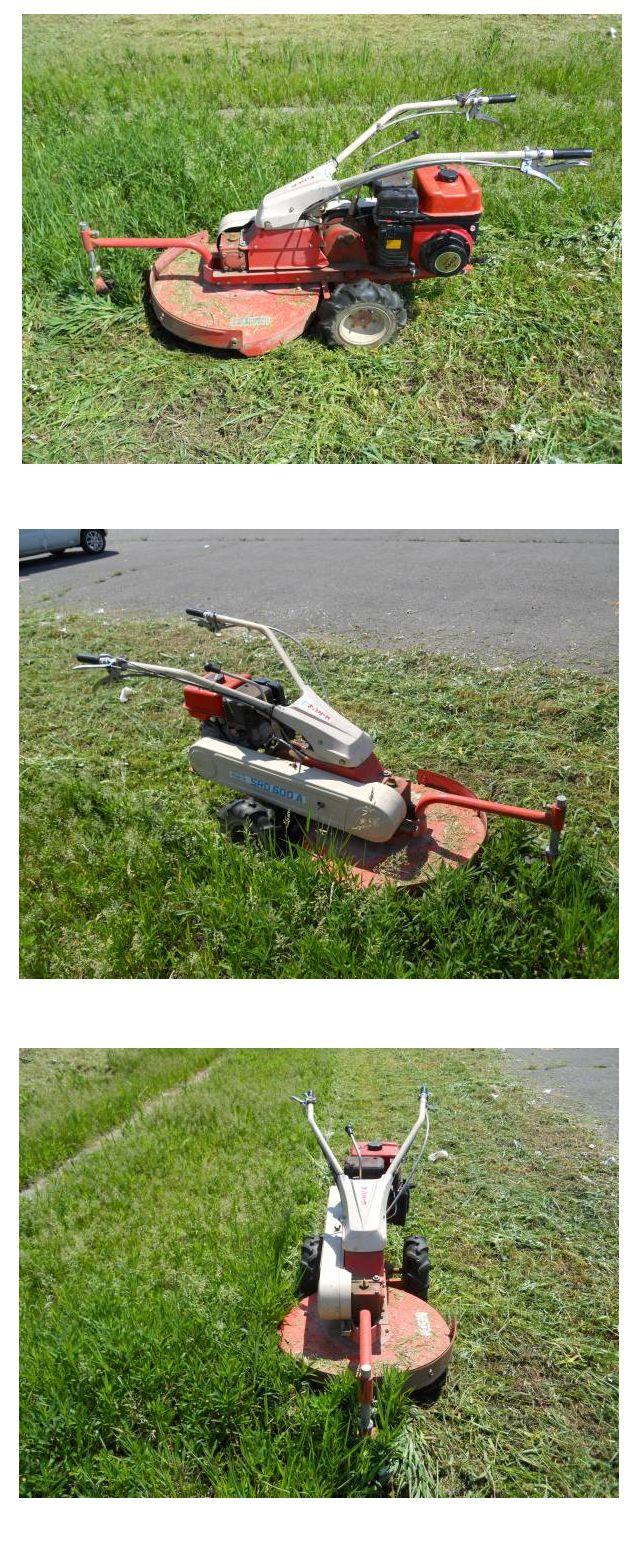 サンエース 草刈機 ロータリーモア SRD600A 6馬力 離農品 実働品 整備発送 中古