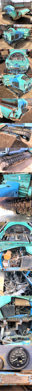 超大型 草刈機 バロネス HM1710 ディーゼル 共栄社 エンジン不良 現状 ジャンク