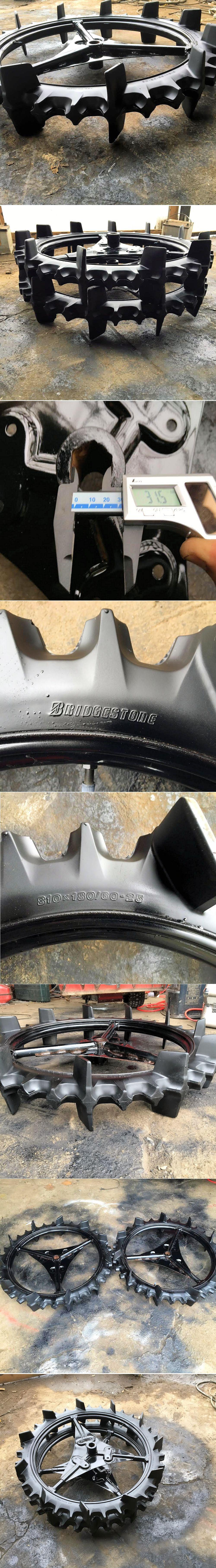 クボタ 田植機タイヤ 後輪 タイヤサイズ 810×180/60-25 極上美品