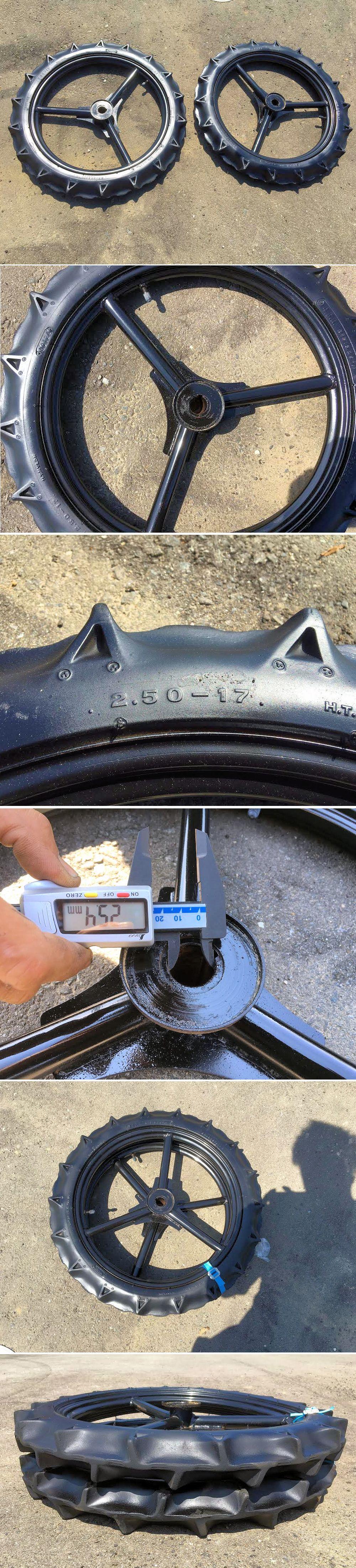 クボタ 田植機 ブリジストン サイズ2.50-17 前輪 極上美品 中古