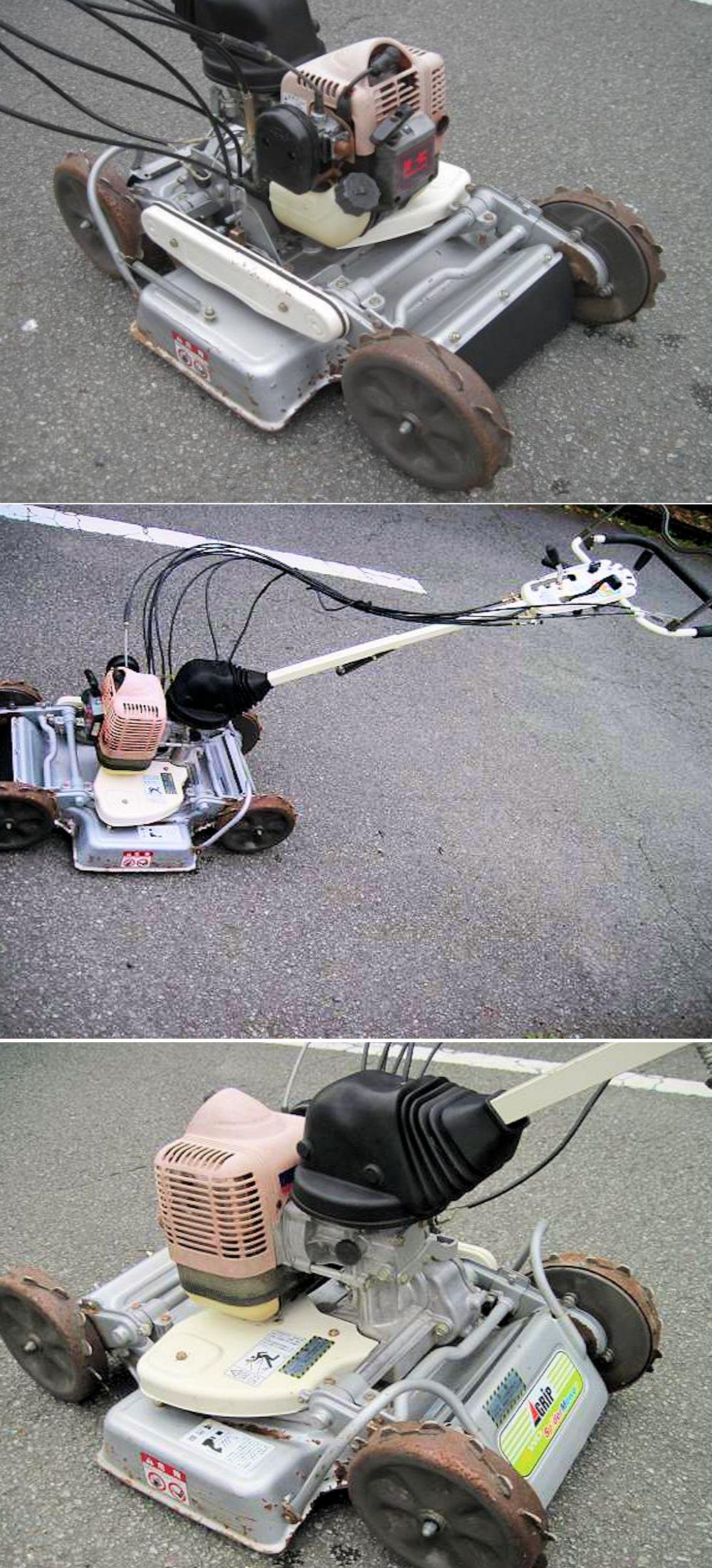 オーレック スパイダーモア SP50 法面畦(あぜ)草刈機 4WD 完全実働品 中古