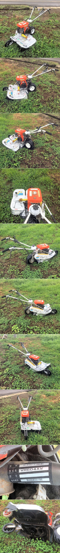 オーレック ウィングモア 2面畦(あぜ) 草刈機 WM604A 整備済