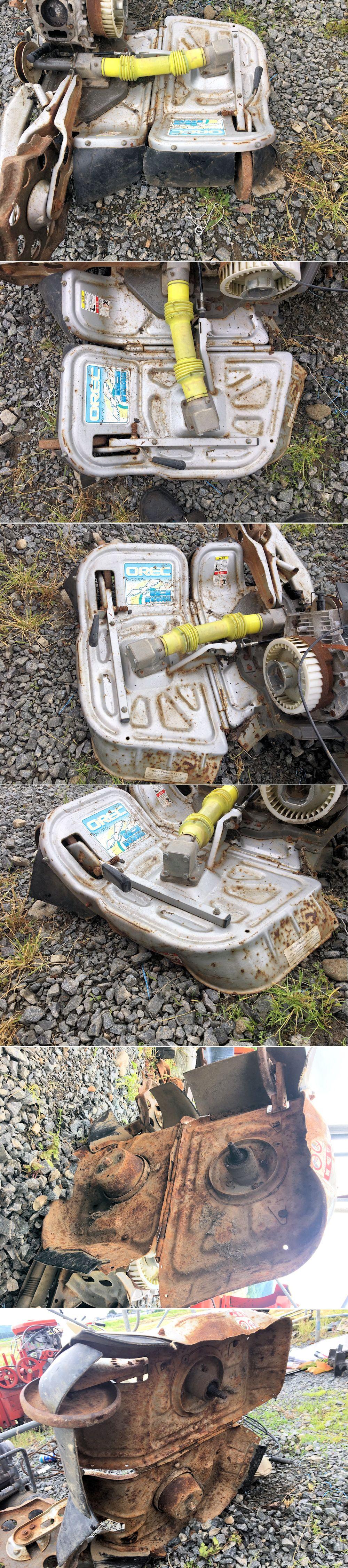 ウィングモア 草刈機 WM726 作業部カバー 状態良好 部品取り 中古