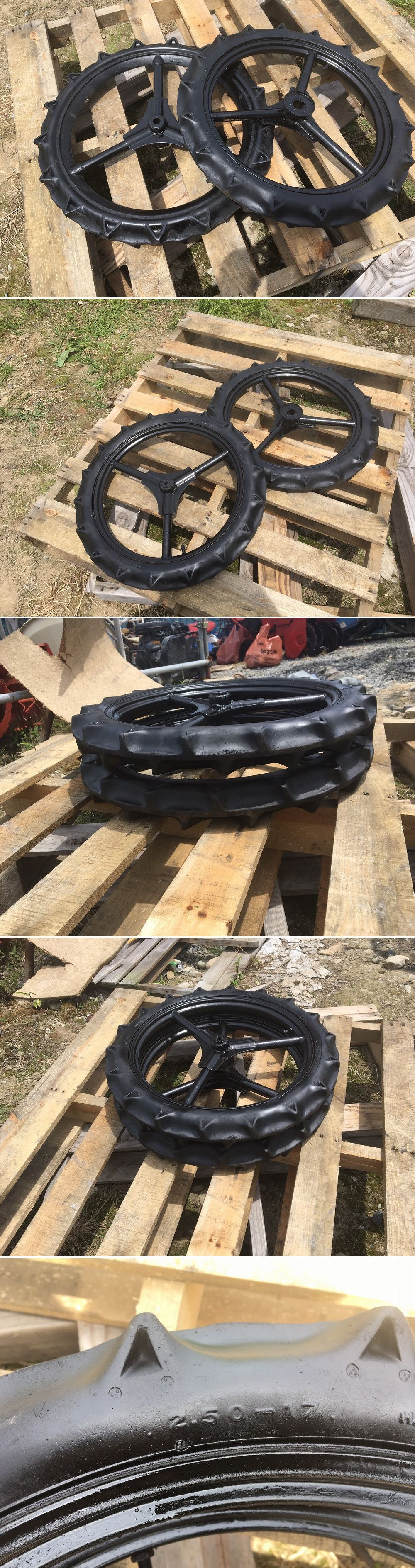 クボタ田植機 前輪 車輪 中古 2.50-17 直径60cm